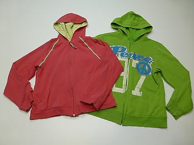 Hoodie Sweatshirts Old Navy & Total Girl Size XL 2XL Pink & Green Good Shape