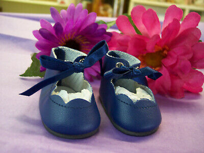 """Reproduction Shoes For 16"""" Terri Lee Doll  Navy Dark Blue"""