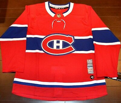 a471b9e896c MONTREAL CANADIENS ADIDAS AdiZero Authentic MENS NHL Hockey Jersey ...