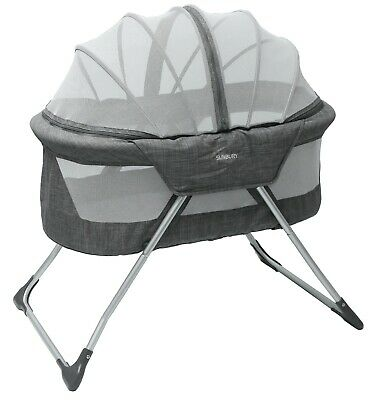 Sunbury cocoon baby portable lightweight bassinet / child's foldable travel bed