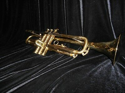 Henri Selmer K-Modified Lightweight 24B Bb Trumpet with Protec Case and Bach Mpc
