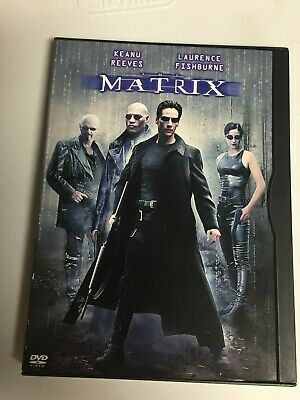 The Matrix (DVD,1999,Widescreen) Keanu Reeves, Not a Scratch!! USA!