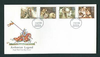 1985 GB FDC. Arthurian Legend. Coventry & Warwickshire First Day Cover