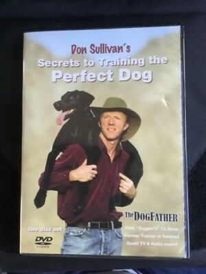 Don Sullivan Secrets to Train The Perfect Dog, 2 DVDs