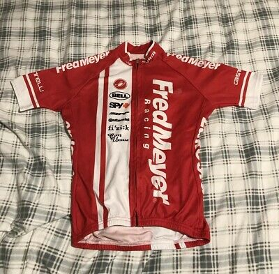 f5208e918 CASTELLI WOMENS Cycling Jersey Medium Red White Black -  19.50 ...