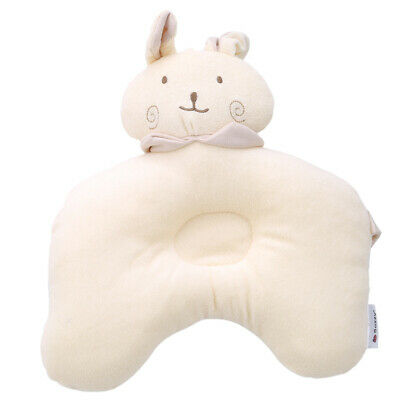 Baby Bear Shaping Pillow Anti-roll Pad Flat Headrest Colored Cotton Embroidery New Design Soft Washable Child Sleep Locator Beautiful And Charming Pillow Baby Bedding