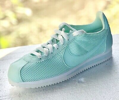 new product 91075 8d7c9 NIKE Classic Cortez Shoe 905614 301   Womens 6.5   Mint Green Igloo White    NEW