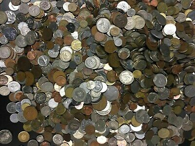 Bulk Lot 25 FOREIGN WORLD COINS No Duplicates in each Lots...
