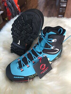 2da891bbbe2 MAMMUT KENTO HIGH GTX ARTIC/BLACK Berg Wanderschuh Outdoor Gr. UK 7 / 40.5