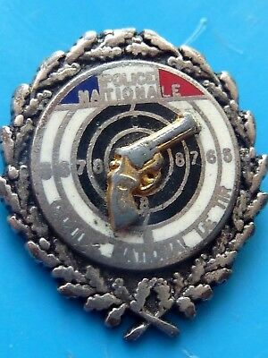 Pin's Police Nationale Section Nationale De Tir Variante