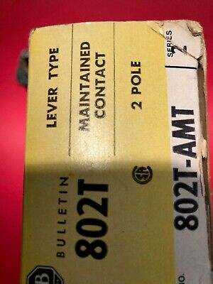Allen Bradley 802T-AMT Lever tupe /Maintained contact/2 pole