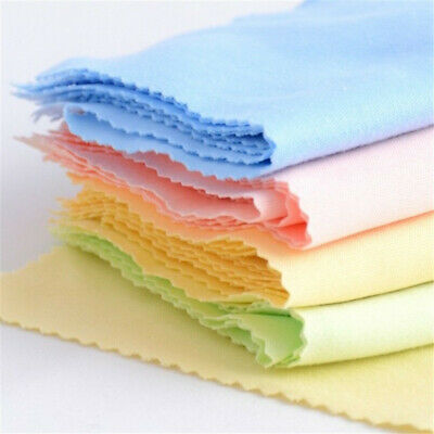 10Pcs Microfiber Cleaning Cloth For Tablet Phone LCD Screen Camera Lens Glasses^