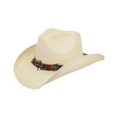 4a0ae98006844 PETER GRIMM UNISEX Mendi Cowboy Hat Ivory Size One Size (21 ...