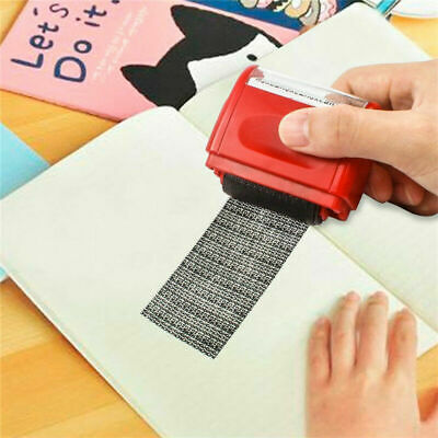 Roller Stamp Data Security Protection Theft Prevention ID Identity Roll Guard A5