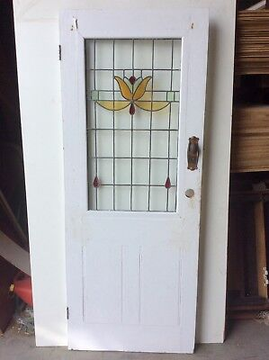 Leadlight External Door