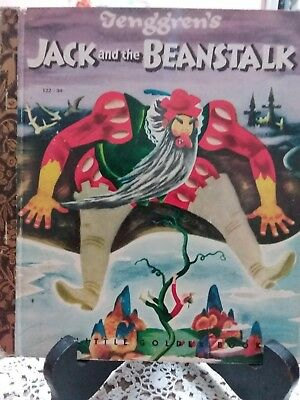 Tenggren's JACK AND THE BEANSTALK Little Golden Book (Australian Colourtone Ed)