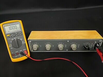 Heathkit DR-1 Decade Resistance Box 1 Ohm - 100K Ohm Resistor - TESTED