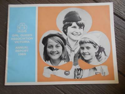 1969 Girl Guides Association Victoria Annual report Brownie Delacombe membership