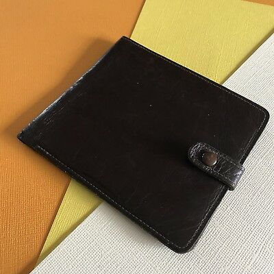 Vintage Kangaroo Leather Wallet Domo Made In Victoria Australia Retro Bi Fold