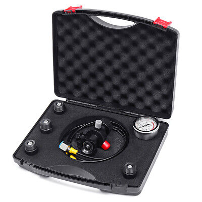 Hydraulic Accumulator Nitrogen Charging Fill Gas Valve Pressure Test Kit 400Bar