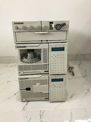 HP 1050 Series HPLC Includes Pump, Auto injector  Auto sampler & Solvent Tray