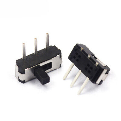 MSK-12D19 Small Slide Switch 3 Pins Handle 3mm Micro Toggle Switches 1P2T SPDT