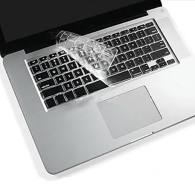 FT- Clear TPU Keyboard Cover Skin Protector for Macbook Pro 11/13/15/17 inch Han