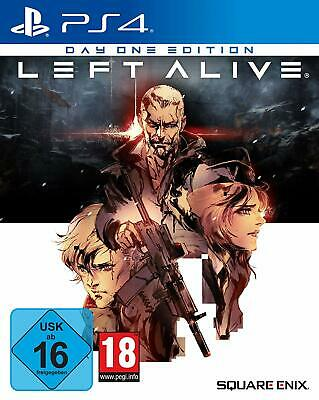 Left Alive - DayOne-Edition (PS4) (NEU & OVP) (UNCUT) (Blitzversand)