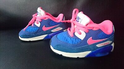 NIKE AIR MAX Run Lite 2 Girls Trainers 454589 002 Very Good Condition Size UK 3