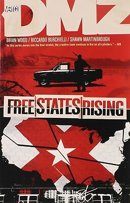 DMZ: Free States Rising (Volume 11) TP - Vertigo Graphic Novel, Vol - BRAND NEW