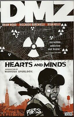 DMZ: Hearts and Minds (Volume 8) TP - Vertigo Graphic Novel, Vol 08 - BRAND NEW