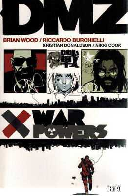 DMZ: War Powers (Volume 7) TP - Vertigo Graphic Novel, Vol 07, Wood - BRAND NEW