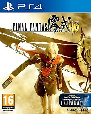 PS4 Final Fantasy Type-0 HD Nuevo Precintado Pal España
