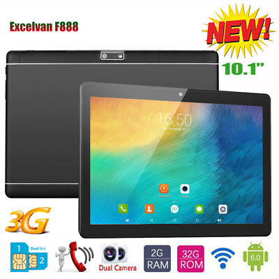 10 1'' 3G TABLET PC Android 6 0 16G Smartphone WiFi eBook