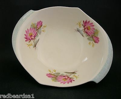 ROYAL WINTON Grimwades WATERLILY Vintage English CHINA Fruit Salad BOWL c1940s