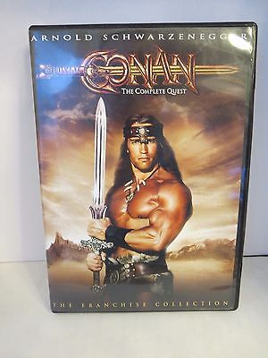 Conan: The Complete Quest (DVD, 2004)