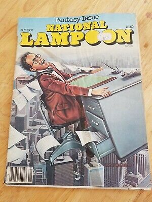 National Lampoon Humour Magazines: 7 assorted issues from 1980