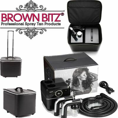 Rapid professional spray tan machine with Tanning essentials carry case