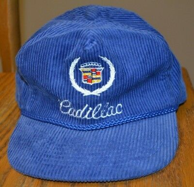 VINTAGE CADILLAC HAT Cap Clean But Used Worn Condition See Photos ... d66b86c2bf8e