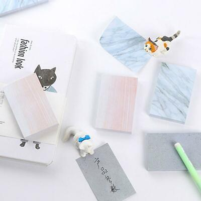 Rectangle Stones Sticky Notes Memo Pad Planner Stickers Stationery Notebook-New