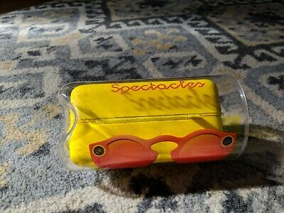 Snapchat Spectacles CORAL Brand New