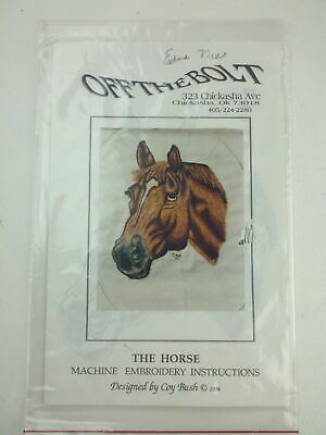 Off The Bolt - The Horse Machine Embroidery