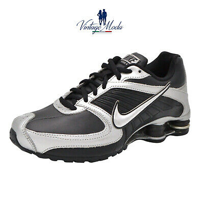 Nike Calzature Shox Turbo 8 Lea Unisex Shoes 344930 002 Scarpa Casual  Sneakers 084c2e91325