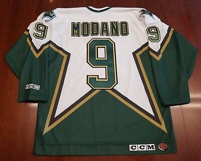 MIKE MODANO DALLAS Stars 2005 CCM Throwback Home NHL Hockey Jersey ... 0bb4e8682