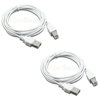 10X NEW 6ft USB2.0 A Male to B Male Printer Scanner Cable Cord HOT! U2A1-B1-06