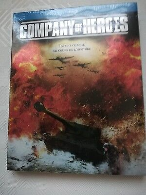 BLU RAY COMPANY OF HEROES - neuf sous cellophane