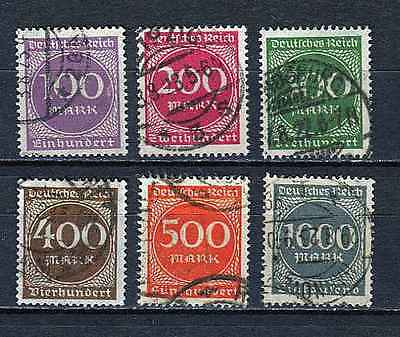German Reich : Better Inflation eara set from 1923 - used !!!