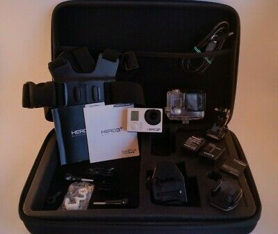 GoPro Hero 3+ black Edition CHESTY POV Action LOTS OF ACCESSORIES 1080p/4K