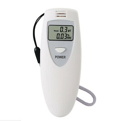 Police Digital LCD Breath Alcohol Tester Breathalyzer Analyzer Portable Detector