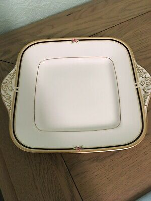 Wedgwood Clio Square Serving Plate/ Platter With Handles. Great Present. Ornate